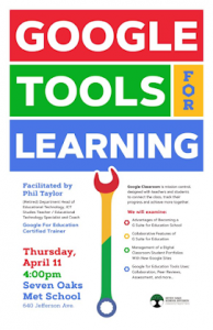 Google Tools for Learning